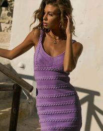 Фустан - код 2203 - виолетова