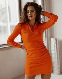 Фустан - код 4288 - портокалова