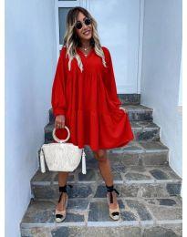 Фустан - код 6643 - црвена
