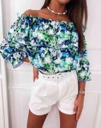 Блуза - код 1945 - цветна