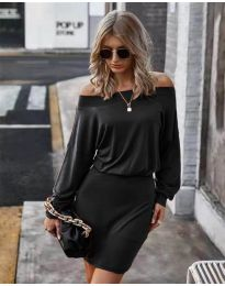 Фустан - код 4447 - црна