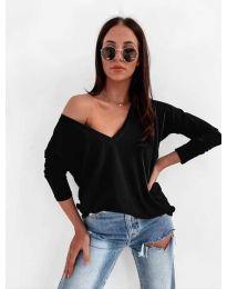 Блуза - код 3478 - црна