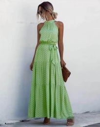 Фустан - код 6214 - зелена