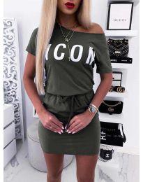 Фустан - код 9905 - путер зелена
