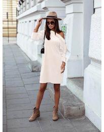 Фустан - код 8171 - бело