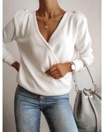 Блуза - код 294 - бело