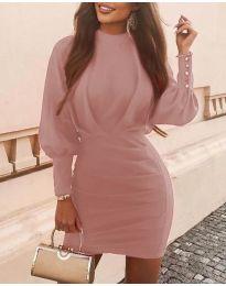 Фустан - код 4016 - пудра