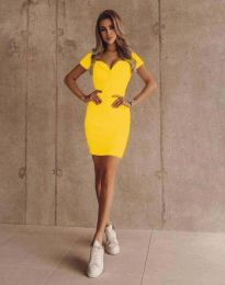Фустан - код 1842 - жолта