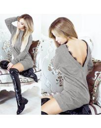 Фустан - код 0502 - сиво