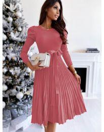 Фустан - код 3939 - розова