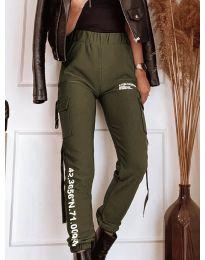Панталони - код 1142 - зелена