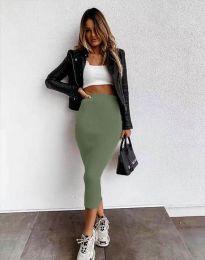 Сукња - код 2260 - зелена