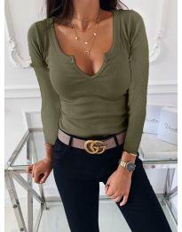 Блуза - код 875 - путер зелена