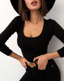 Блуза - код 11662 - црна