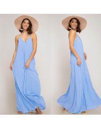 Фустан - код 0508 - светло сина
