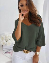 Блуза - код 901 - путер зелена