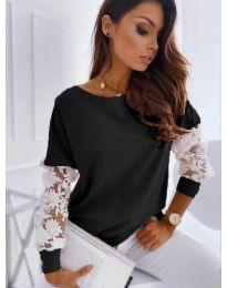 Блуза - код 4426 - црна