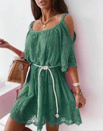 Фустан - код 6954 - зелена