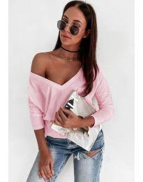 Блуза - код 3478 - розова