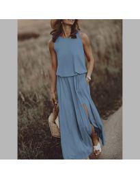 Фустан - код 640 - светло сина