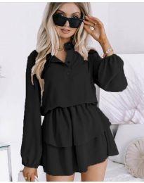 Фустан - код 4093 - црна