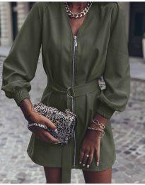 Фустан - код 820 - путер зелена