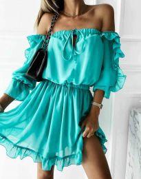 Фустан - код 0223 - тиркизна