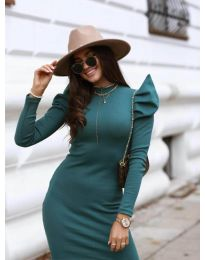 Фустан - код 1504 - 2 - темно зелена