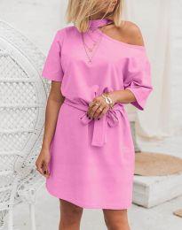 Фустан - код 5848 - 4 - розова
