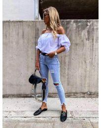 Блуза - код 243 - бела