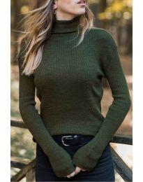 Блуза - код 518 - путер зелена