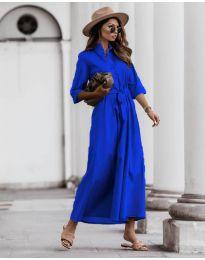 Фустан - код 0900 - темно сина