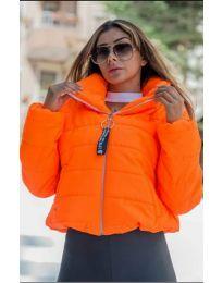 Јакна - код 9161 - 6 - портокалова