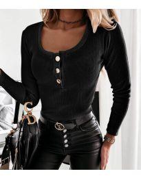 Блуза - код 4155 - црна