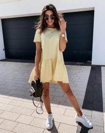 Фустан - код 11890 - жолта