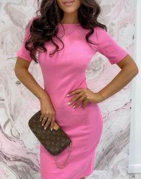 Фустан - код 44477 - розова