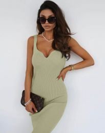 Фустан - код 10033 - зелена