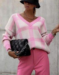 Блуза - код 8927 - розова