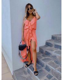 Фустан - код 0081 - портокалова