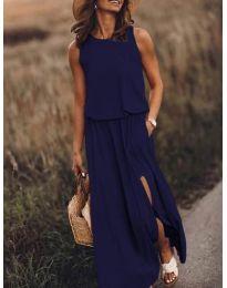 Фустан - код 640 - темно сина