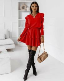 Фустан - код 12042 - црвена
