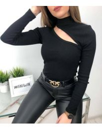 Блуза - код 6363 - црна