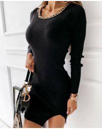 Фустан - код 4545 - црна