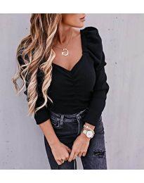 Блуза - код 394 - црна