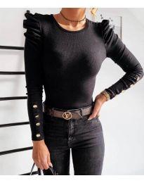 Блуза - код 4157 - црна