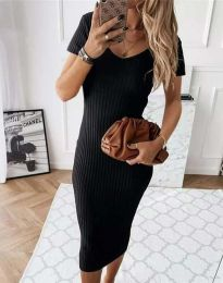 Фустан - код 0714 - 2 - црна