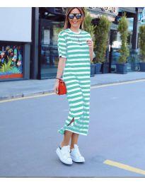 Фустан - код 9910 - зелена