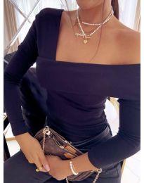 Блуза - код 5343 - 1 - црна