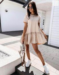 Фустан - код 11890 - кремова