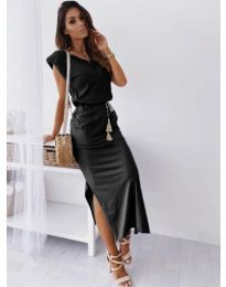 Фустан - код 6622 - црна